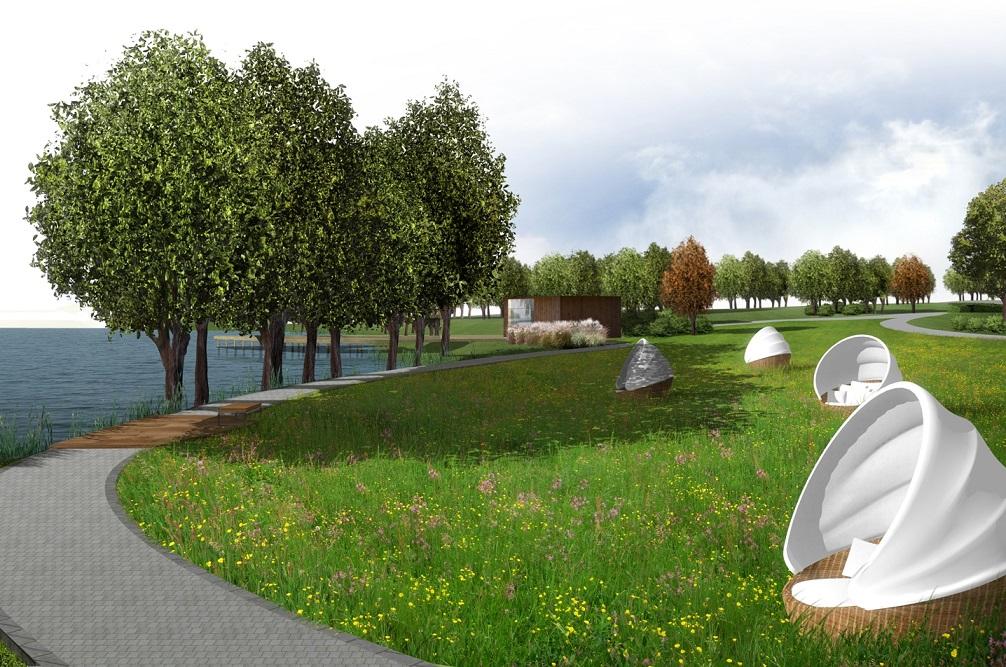 Marina Golf Club projekt terenu