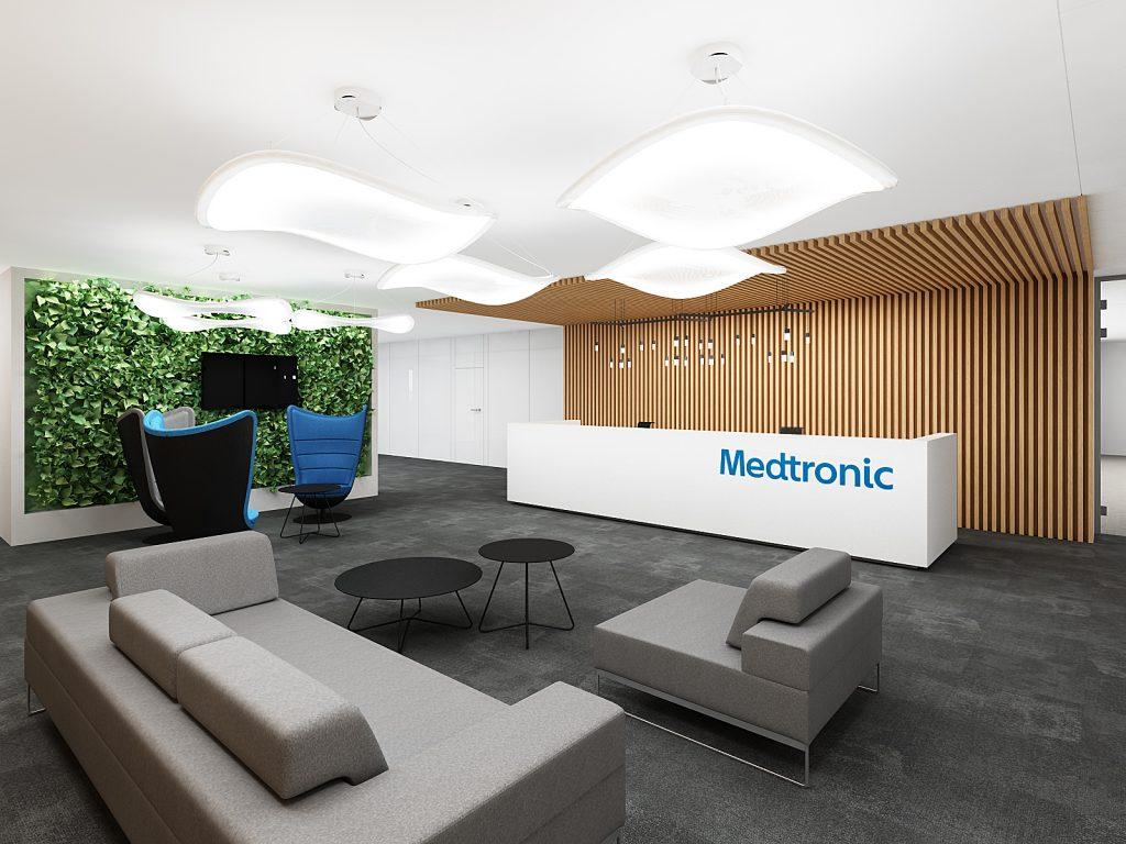 medtronic recepcja biura bekier studio