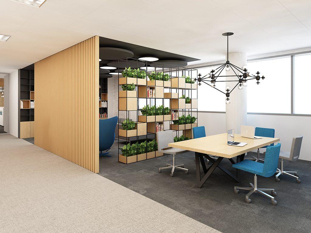 wnętrza biura projekt bekier studioxx