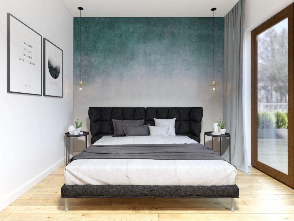 8 projekt wnetrz sypialnia