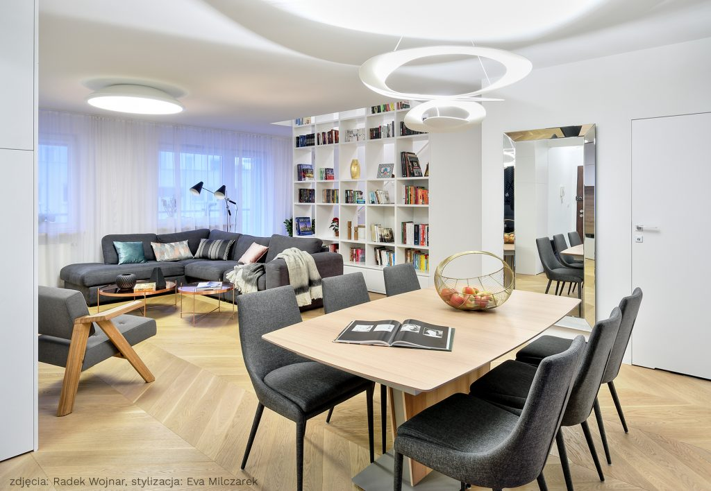 Apartament Osiedle Leśne Salon_1A