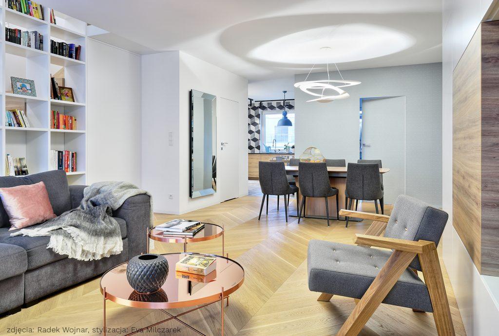 Apartament Osiedle Leśne Salon_2A