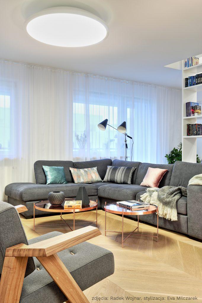 Apartament Osiedle Leśne Salon_5a